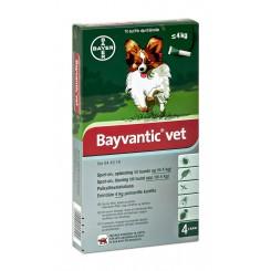 Bayvantic Vet. hund indtil 4 kg