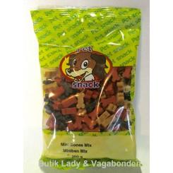 Hundegodbidder Petsnack miniben mix 200 gr.