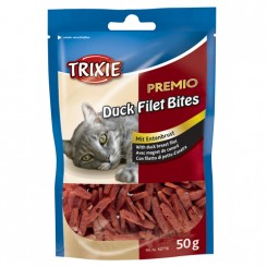 Kattegodbidder Duck filet Bites 50 gr.