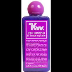 Hundeshampoo KW hvid 200 ml.