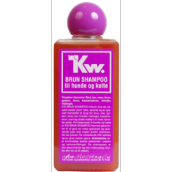 Hundeshampoo KW brun 200 ml.