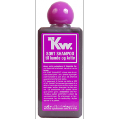 Hundeshampoo KW sort 200 ml.