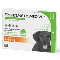 Frontline Combo t/hund 2 - 10 kg