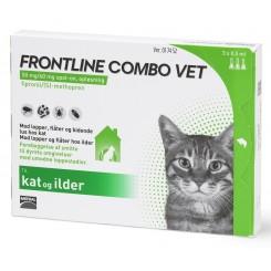 Frontline Combo kat, 3 stk.