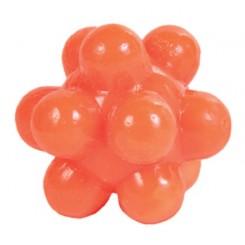 4 gummibolde med dupper