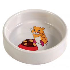 Hamsterskål, keramik