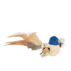 Fugl med fjer