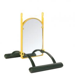 Spejl m/siddepinde