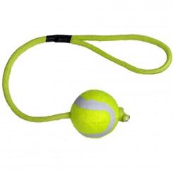 Tennisbold 3 cm. med snor